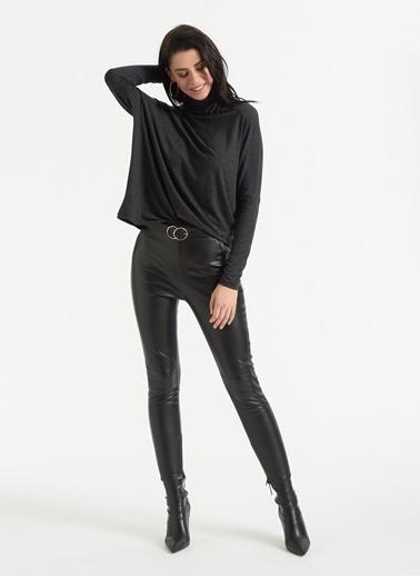 Styletag Bol Kesim Bluz Antrasit